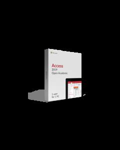 Microsoft Access 2019 Open Academic