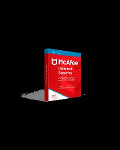 McAfee Internet Security 2019 (1YR, 10 PC/Mac) Download
