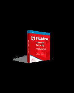 McAfee Internet Security 2019 (3YR, 1 PC/Mac) Download