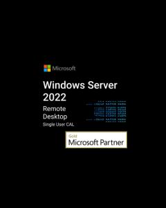 Windows Server 2022 Remote Desktop Services Single User CAL