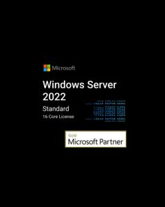 Windows server 2022 Standard- 16 Core License