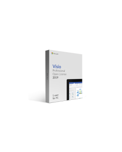 Microsoft Visio 2019 Professional Open License