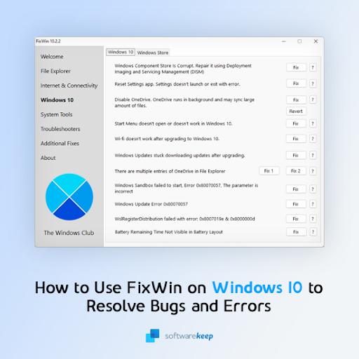 How To Use FixWin on Windows 10 — Fix Errors With 1 Click